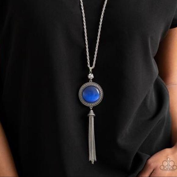 J81 Blue moonstone necklace